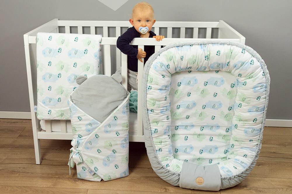 Kokony niemowlęce, a może gniazdko dla maluszka?