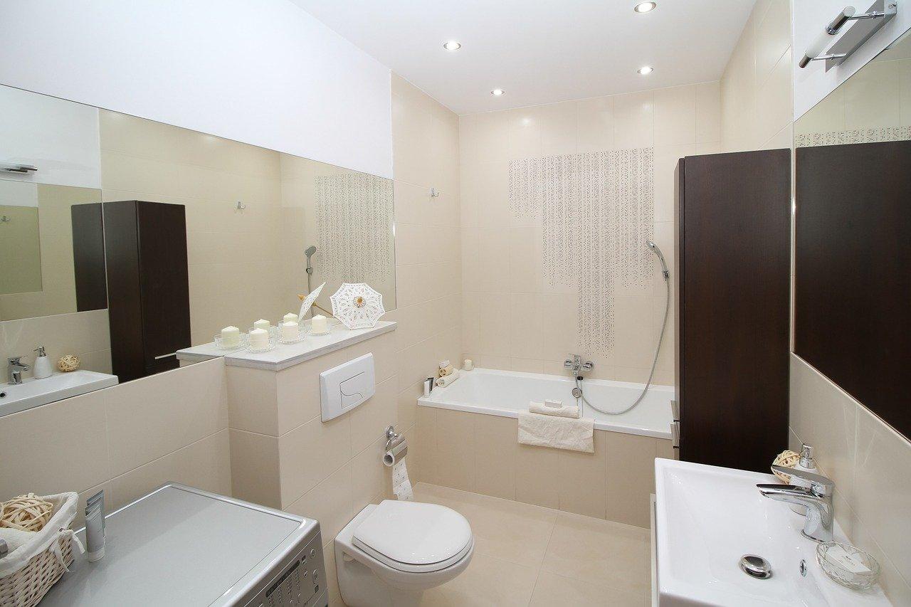 Zabezpieczenie ścian w łazience