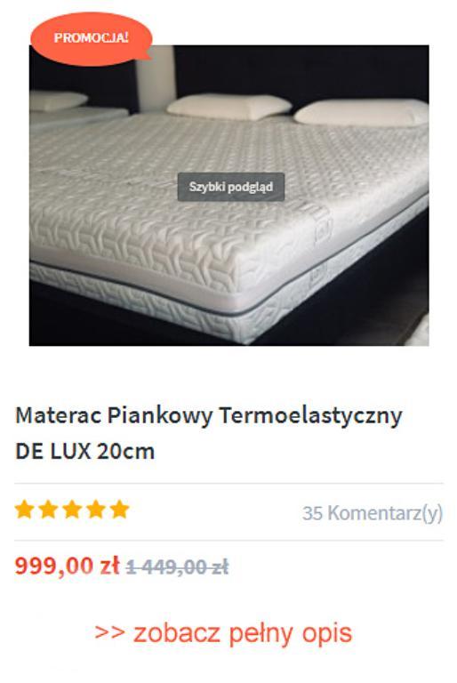 Jak wiele sklepów w Polsce sprzedaje doskonałe materace?